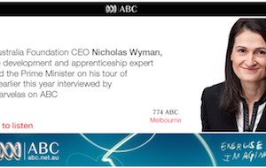 Skilling Australia CEO Interviewed on 774 ABC Radio