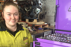 Sydney girl shows mechanics isn't just for boys