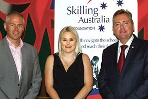 Alicia Doolan powers through traineeship and takes top award
