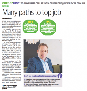 Many paths to top job