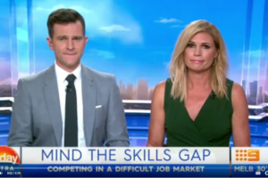@nicholas_wyman talks #jobs and skills# employers are looking for on #TODAY EXTRA @Channel9