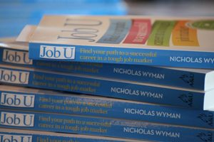Enter for your chance to win one of 6 signed copies of Job U