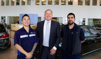 Apprentices from @MBMelbourne heading off on #International Scholarship to extend their training #USA
