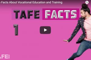 'The Facts About Vocational Education and Training'  #TAFENSW – Youtube, Online