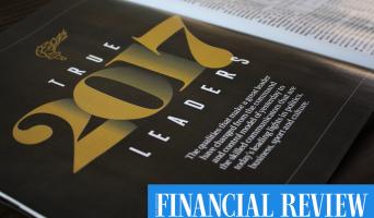 'True Leaders 2017' Australian Financial Review, BOSS Magazine