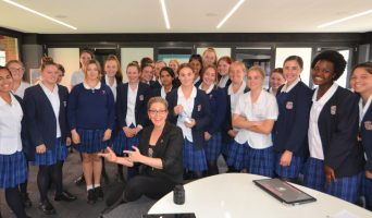 Superstar Engages Young Females in STEM