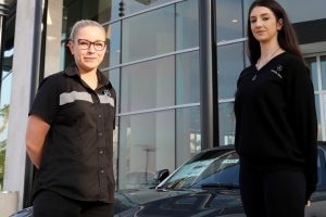 Mikaela gains insight into America's automotive industry