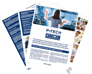 National P-TECH Brochure - 2018